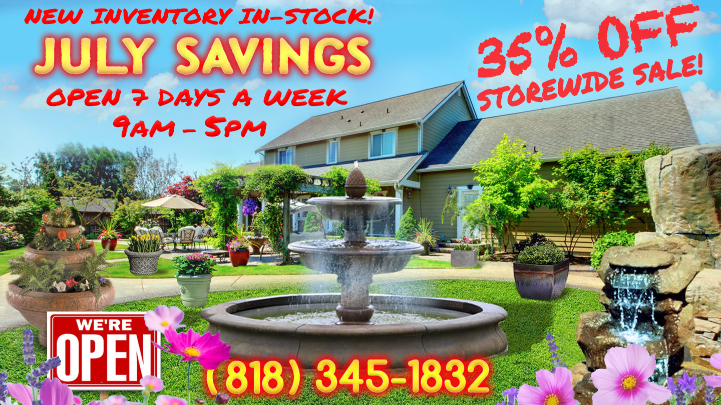 Reseda Pottery Planters And Fountains Los Angeles Ca